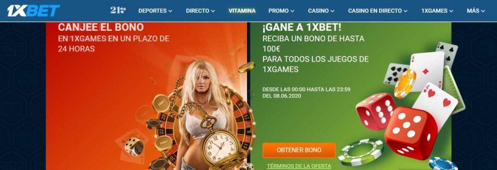 Código Promocional 1xBet Chile